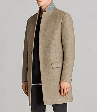 Mens Denton Coat (MUSHROOM BROWN) - product_image_alt_text_3