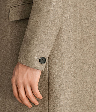 Mens Denton Coat (MUSHROOM BROWN) - product_image_alt_text_4