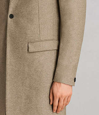 Mens Denton Coat (MUSHROOM BROWN) - product_image_alt_text_5