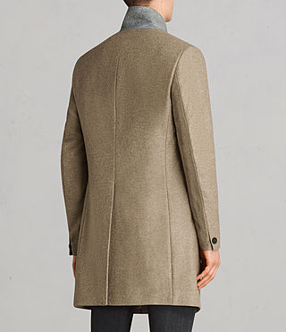 Mens Denton Coat (MUSHROOM BROWN) - product_image_alt_text_6