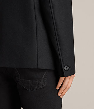 Mens Melrose Peacoat (Black) - Image 4