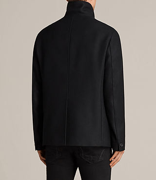 Mens Melrose Peacoat (Black) - Image 5