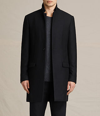 Mens Burren Coat (Black)