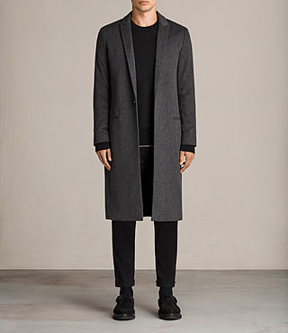 Men's Bradford Coat (Charcoal Grey) - Image 1