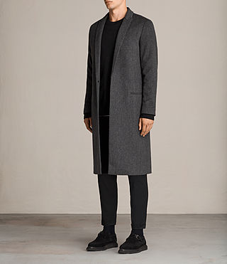 Men's Bradford Coat (Charcoal Grey) - Image 3