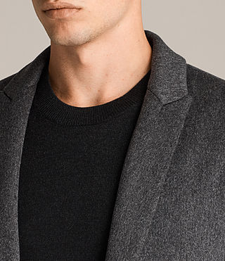 Men's Bradford Coat (Charcoal Grey) - Image 4