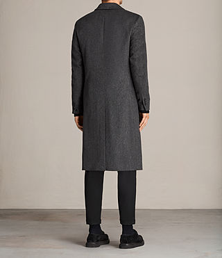 Men's Bradford Coat (Charcoal Grey) - Image 5