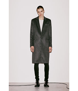Men's Bradford Coat (Charcoal Grey) - Image 6