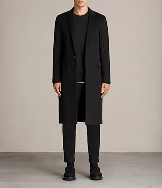 Men's Bradford Coat (Black) - Image 1