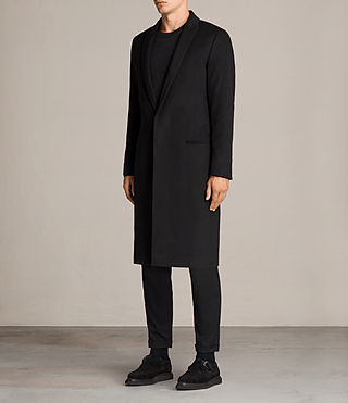 Men's Bradford Coat (Black) - Image 4