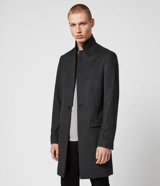 Men's Bodell Coat (Charcoal Grey) - product_image_alt_text_4