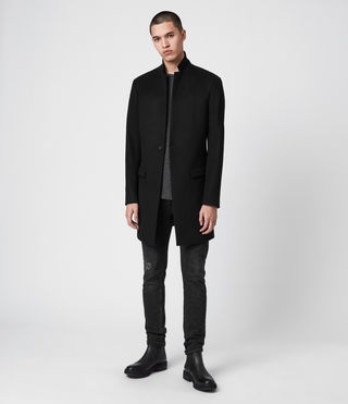 Uomo Cappotto Bodell (Black) - product_image_alt_text_4