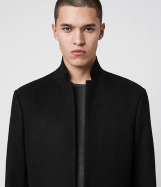 Uomo Cappotto Bodell (Black) - product_image_alt_text_5