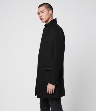 Uomo Cappotto Bodell (Black) - product_image_alt_text_6