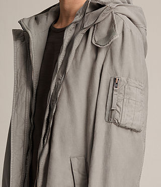 Men's Berwyn Parka Coat (SOFT KHAKI GREEN)