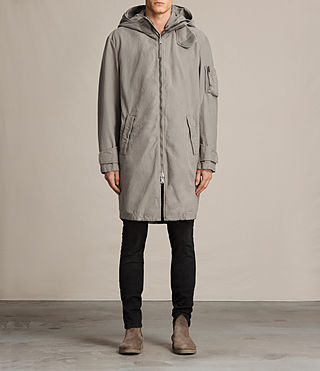 Herren Berwyn Parka Coat (SOFT KHAKI GREEN) - product_image_alt_text_2