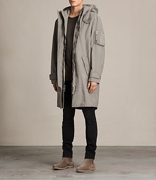 Herren Berwyn Parka Coat (SOFT KHAKI GREEN) - product_image_alt_text_3