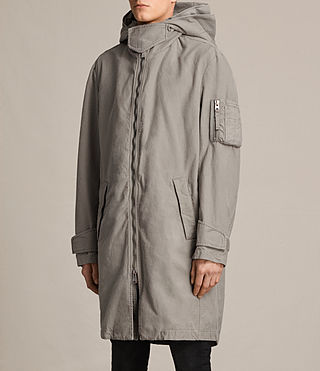 Herren Berwyn Parka Coat (SOFT KHAKI GREEN) - product_image_alt_text_4