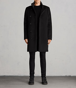 Men's Eskra Coat (Black) - Image 1