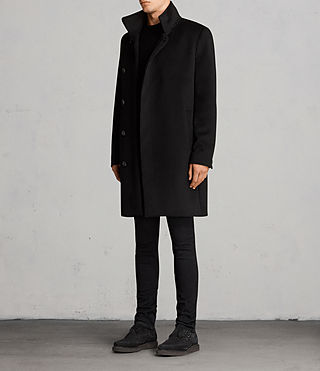 Mens Eskra Coat (Black) - product_image_alt_text_3