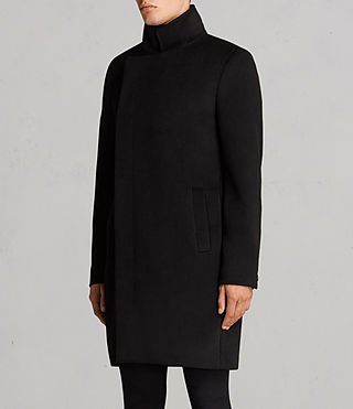 Men's Eskra Coat (Black) - Image 4