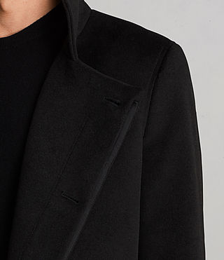 Men's Eskra Coat (Black) - Image 6