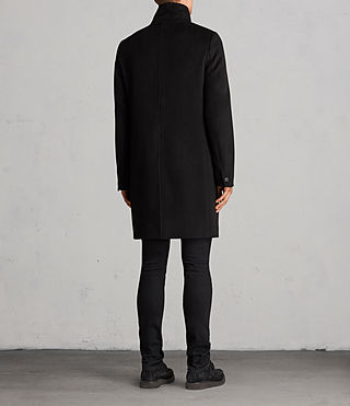 Men's Eskra Coat (Black) - Image 7