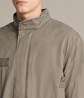 Mens Arlet Parka Coat (Light Khaki) - product_image_alt_text_2