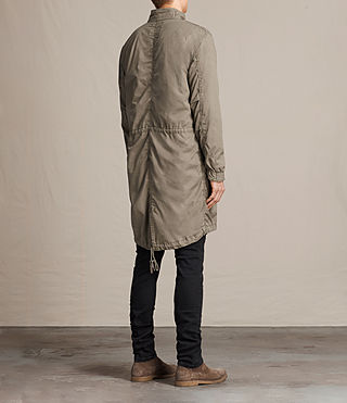 Mens Arlet Parka Coat (Light Khaki) - product_image_alt_text_5