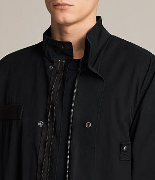 Mens Arlet Parka Coat (Black) - product_image_alt_text_2