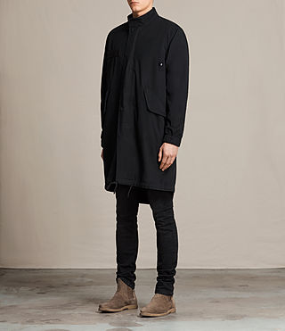 Mens Arlet Parka Coat (Black) - product_image_alt_text_3