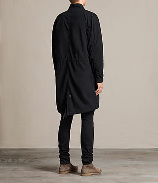 Mens Arlet Parka Coat (Black) - product_image_alt_text_5