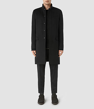 Mens Adler Coat (Black)