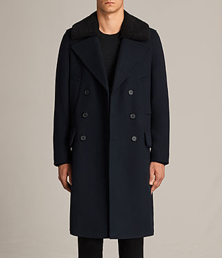 Mens Pelham Coat (INK NAVY) - Image 1
