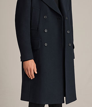 Mens Pelham Coat (INK NAVY) - Image 2