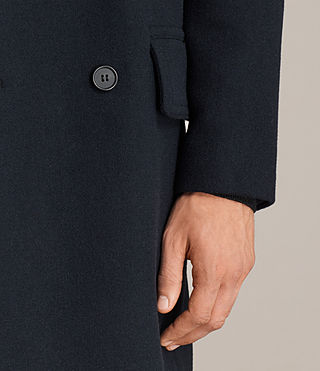 Mens Pelham Coat (INK NAVY) - Image 4