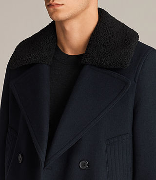 Mens Pelham Coat (INK NAVY) - Image 6