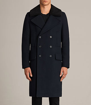 Mens Pelham Coat (INK NAVY) - Image 8