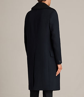 Mens Pelham Coat (INK NAVY) - Image 9