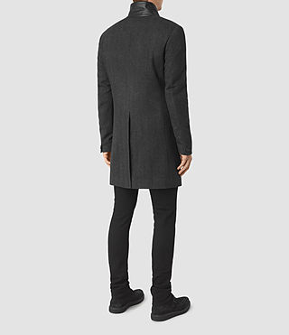Mens Sigel Coat (Charcoal) - product_image_alt_text_4