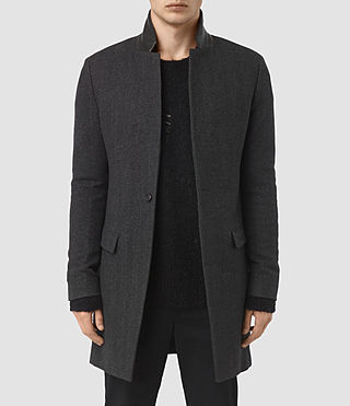 Hombres Sigel Coat (Charcoal Grey)
