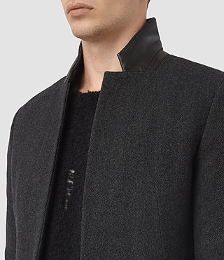 Uomo Cappotto Sigel (Charcoal Grey) - product_image_alt_text_3