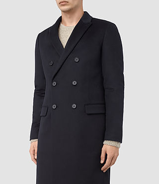 Hombres Clissold Coat (INK NAVY) - product_image_alt_text_5