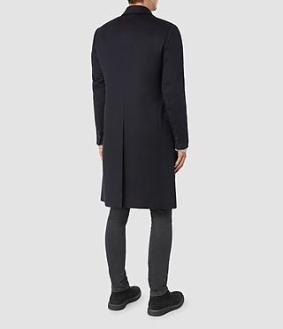 Mens Clissold Coat (INK NAVY) - product_image_alt_text_6