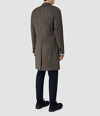 Men's Malfern Coat (BATTLE BROWN) - product_image_alt_text_4