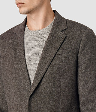 Men's Malfern Coat (BATTLE BROWN) - product_image_alt_text_5