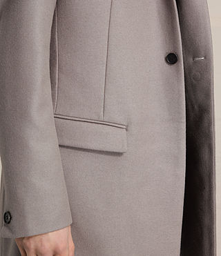 Mens Eskoe Coat (Taupe) - product_image_alt_text_2