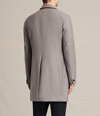 Mens Eskoe Coat (Taupe) - product_image_alt_text_4
