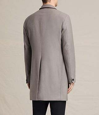 Mens Eskoe Coat (Taupe) - product_image_alt_text_5
