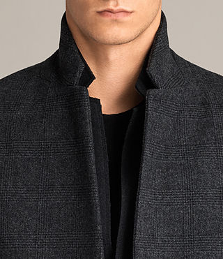 Hommes Manteau Reed (Charcoal Grey) - Image 2